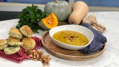 Roast pumpkin and turmeric soup