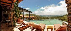 We love the amazing view that Casa De Los Suenos has in Hermosa Heights, Guanacaste Costa Rica.