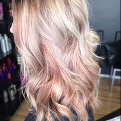 """81 Likes, 14 Comments - We are Dolls Hair & Tans (@wearedolls) on Instagram: """"Inspo 😍 So much love for those rose gold highlights. Photo credit: unknown"""""""
