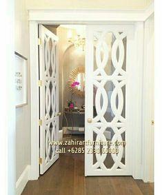 Pintu Rumah Modern Klasik www.pintu.mebeljepara.online