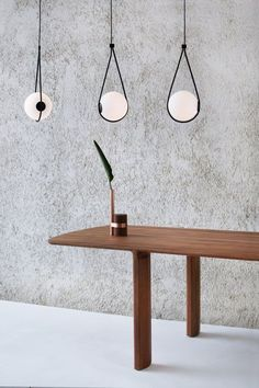 The electric cable of the Corda Lamp becomes one with its metal sling, which in turn provides the perfect cupping for the hand-b. Interior Lighting, Lighting Design, Unique Lighting, Tropical Vases, Furniture Styles, Furniture Design, Ceiling Lamp, Ceiling Lights, Blitz Design