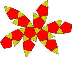 Icosidodecahedron flat.svg
