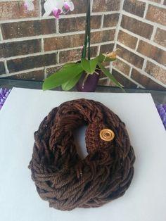 Crochet bufanda 20 $