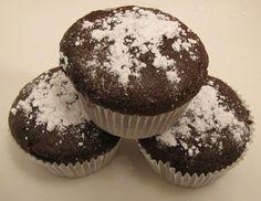 Vetvrije chocolade cupcakes