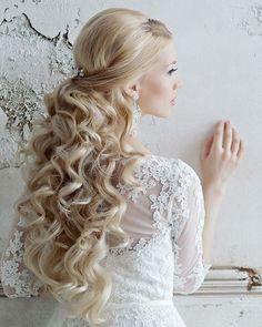 Elstie Long Wedding Hairstyles and Wedding Updos 23 | Deer Pearl Flowers