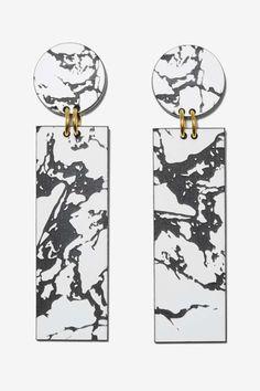 I Still Love You NYC Marbleized Drop Earrings - Accessories | Earrings