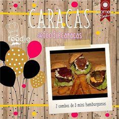 @Regrann from @comersabroso - ATENCIÓN CARACAS!  . Gánate este par de combos compuestos por 3 mini hamburguesas: carne chistorra y morcilla para que compartas con esa persona a quien adoras!  --------------------------- BASES DEL CONCURSO: .Sigue a @comersabroso y @foodiecaracas . .Dale like a esta imagen. .Etiqueta a 4 personas. .COME SABROSO! . Solo abstente de mencionar a cuentas de tiendas o famosos y podrás etiquetar a cuantas personas desees para tener mayores probabilidades de…