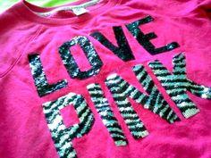 i dont love the color pink but i love zebra