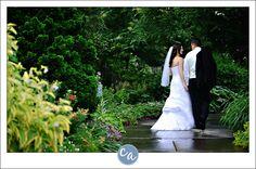 Wedding portrait at the Cleveland Botanical Gardens 11030 East Boulevard, Cleveland, OH 44106.  $ 200/hour for wedding portraits.