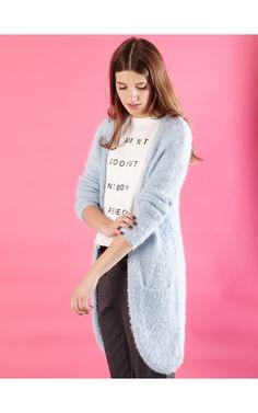 Sweter, SWETRY, niebieski, SINSAY