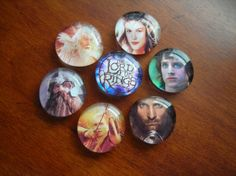 LoTR marble magnets