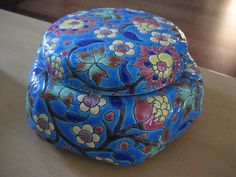 Antique Emaux de Longwy Faience Dresser Powder Trinket Jar Box France Majolica | eBay