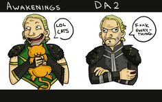 If Hawke had only bought Anders a cat the war might have been averted...
