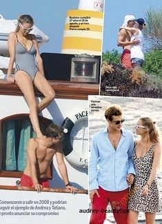 Beatrice Borromeo and Pierre