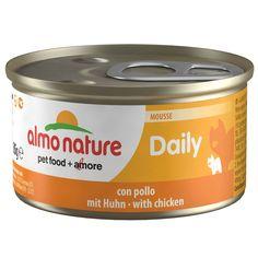 Animalerie  Almo Nature Daily Menu 6 x 85 g pour chat  bouchées à la dinde et au canard