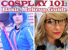 xo Mia - Style, Cosplay, & Living the Geek Life: Cosplay 101: Basic Makeup Guide (Part 1)