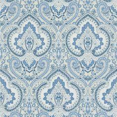 castlehead paisley - porcelain wallpaper | Ralph Lauren