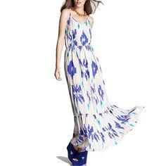 ✨HOST PICK 2/20/16 -FEATURED- Aqua Maxi Dress Beautiful maxi dress by Aqua! Features v-neck (not low cut), adjustable straps, and tiered skirt. Aqua size Large; fits like a 2/4. Aqua Dresses Maxi