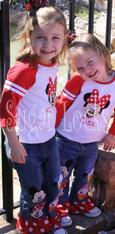 Boutique Vacation Mouse Personalized Minnie Face by sugarlocks, $27.99