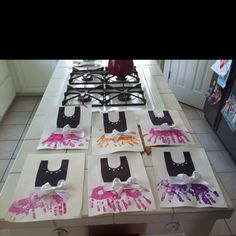ballet party crafts....need to do this with my ballerinas