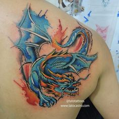 #dragontattoo #watercolortattoos #rockcitytattoo #rockcitybucaramanga #Bucaramanga #tattoo #tattoos #tatuajes #tatuagem #tatocastro #tatuajesbucaramanga #tatuador #tattoopics #tatuados #Bucaramangatattoo #Colombiatattoo #tatuajescolombia #tattooartist   Done at ROCK CITY TATTOO SHOP By Tato Castro Tag your friends if you like this. Follow us!!!!  🔽🔽🔽🔽🔽🔽  @tatotattoos  @tatotattoos  @tatotattoos