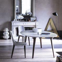 Mesa de comedor / de interior / moderna / de mármol ADEMAR by Giulio Iacchetti…