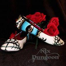Ladykiller Flat. www.nixdungeon.co.nz Flats, Heels, Accessories, Fashion, Loafers & Slip Ons, Heel, Moda, Fashion Styles, High Heel