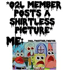 Exactly & when 6/6 posted the shirtless rehearsal photo *.*