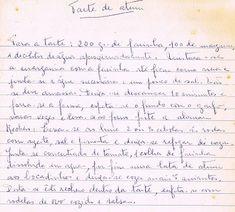 As Receitas da Avó Helena e da Avó Eduarda: Tarte de Atum