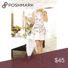 🌷Lauren Conrad Fit and Flare Floral Dress 🌷 Gorgeous Floral Dress LC Lauren Conrad Dresses Mini
