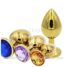 Large Size Metal Jewelry Butt Plug Anal Plugs Ball Massager Erotic Ass Anus Crystal Jewelry Stainless Steel Plug