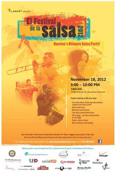 SALSA ANYONE? We are thrilled to be a sponsor for El Festival de la Salsa this Sunday from 3-10 pm at CWA HALL Downtown & WE'RE GIVING AWAY 4 VIP tickets and 20 general admission tickets! Email fb@arodmercedesbenz.com and let us know how many tickets you'd like. But hurry, they'll go fast!    If you're planning to attend, bring a toy to support Texas Children's Hospital and Toys for Kids. More info at http://www.elfestivaldelasalsa.com/salsa-for-toys/.