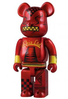 F/S Medicom Toy BE@RBRICK 400% WHIZ Limited Edition Bearbrick Figure from Japan #MEDICOMTOY