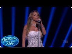 "Mariah Carey interpreta ""Hero"", ""We Belong Together"" y ""Beautiful"" en la final de American Idol"