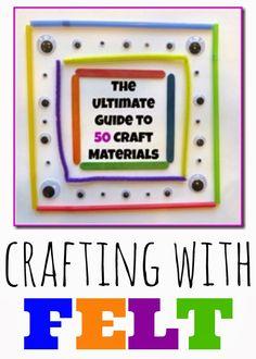 Tutus and Tea Parties: Fine Motor Skill Building Craft   Felt Button Bracelets