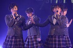 左から倉島颯良、黒澤美澪奈。 - さくら学院の倉島&黒澤、最後のオルスタライブで女優の夢を発表 の画像ギャラリー 4枚目(全10枚) - 音楽ナタリー