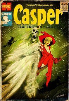 Casper by David Hartman (a.k.a. Sideshowmonkey). Looks like Wendy's all grown up!