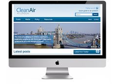 Clean Air in London - Clean Air in London needed us to create a clear, concise, well designed site to deliver their powerful message to a diverse audience of policy makers and media, as well as residents and non-residents of London. http://www.infotex.co.uk/our-work/view/clean-air-in-london