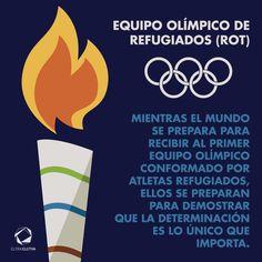 Mientras el mundo se prepara para recibir a los Atletas Olímpicos Refugiados Río 2016, ellos se preparan para demostrar que la determinación...