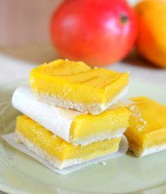 Mango bars from Baking Bites