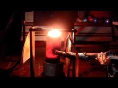 Loud Car Muffler Oil Burner Heater - YouTube