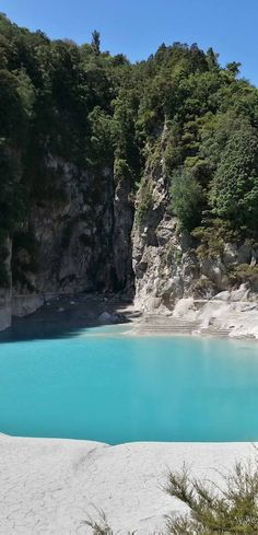 New Zealand, Rotorua, Waimangu Volcanic Valley - Inferno Crater Lake.......I lived and worked here as a teen Kate S.