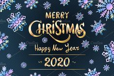 Merry Christmas Happy New Year 2020 by on Creative Market - Happy Christmas - Noel 2020 ideas-Happy New Year-Christmas Christmas Wishes Greetings, Merry Christmas Quotes, Merry Christmas And Happy New Year, Merry Christmas Vector, Christmas Christmas, Happy New Year Quotes, Quotes About New Year, Happy New Year 2020, Vintage Banner