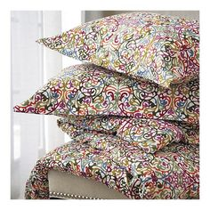 """Lucia Bed Linens.   For spare pillow cases for those """"extra"""" pillows on the bed. Colors go with anything."""