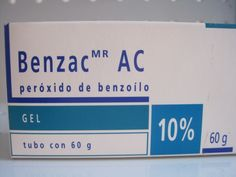 -Nom: Benzac. -Principis actius: peròxid de benzoïl. -Indicacions: acnè vulgar. -Tipus: PERÒXIDS, PREPARATS PER A L'ACNÈ D'ÚS TÒPIC, PREPARATS CONTRA L'ACNÈ, PREPARATS DERMATOLÒGICS.