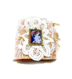 Victorian Angel Needle Book Sewing Embroidery by GaffneyGirlStudio
