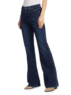 Molly High-Rise Flare Jeans Wine Gift Boxes, Wine Gifts, Flare Jeans, Bootleg Jeans