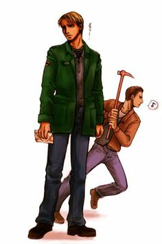 James Sunderland and Harry Mason (Silent Hill)