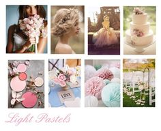 """Light Pastels"" by pasztorpetra on Polyvore"
