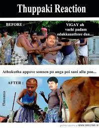 Image result for vijay funny images in thuppaki